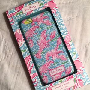 Lilly Pulitzer IPhone cover NWT